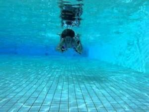 Zwemmen onder water